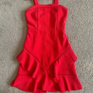 bright red girls party dress from bardot junior